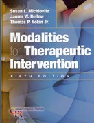 Modalities for Therapeutic Intervention 5th Edition 9780803623910 0803623917