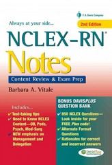 NCLEX-RN Notes 2nd edition 9780803629134 0803629133