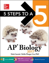 5 Steps to a 5: AP Biology 2017 9th Edition 9781259587788 1259587789