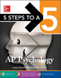 5 Steps to a 5 AP Psychology 2017 8th Edition 9781259588426 1259588424
