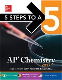 5 Steps to a 5: AP Chemistry 2017 9th Edition 9781259586484 1259586480