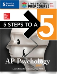 5 Steps to a 5 AP Psychology 2017 Cross-Platform Prep Course 8th Edition 9781259588440 1259588440