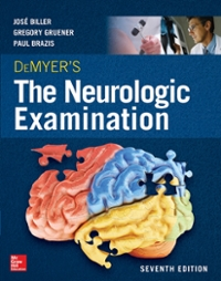 DeMyer's The Neurologic Examination: A Programmed Text 7th Edition 9780071841627 0071841628