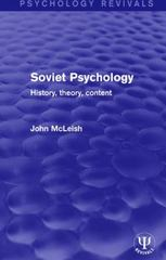 Soviet Psychology 1st Edition 9781138646728 1138646725