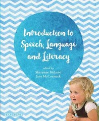 Introduction to Speech, Language and Literacy 1st Edition 9780195527926 0195527925