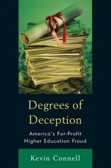 Degrees of Deception 1st Edition 9781475826067 1475826060