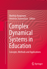 Complex Dynamical Systems in Education 1st Edition 9783319275772 3319275771