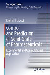 Control and Prediction of Solid-State of Pharmaceuticals 1st Edition 9783319275550 3319275550