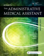 Kinn's The Administrative Medical Assistant 13th Edition 9780323396721 0323396720