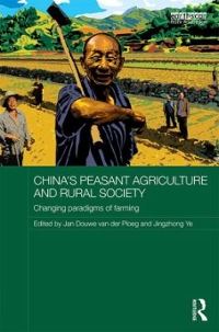 China's Peasant Agriculture and Rural Society 1st Edition 9781317285465 1317285468