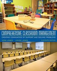 Comprehensive Classroom Management 11th Edition 9780134444352 0134444353