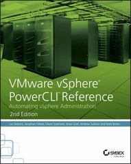VMware vSphere PowerCLI Reference 2nd Edition 9781118925119 1118925114