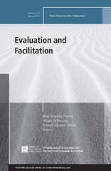 Evaluation and Facilitation, EV 149 1st Edition 9781119258704 1119258707
