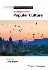 A Companion to Popular Culture 1st Edition 9781405192057 1405192054