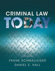 Criminal Law Today, Student Value Edition 6th Edition 9780134437392 013443739X