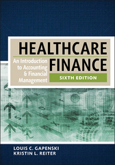 Healthcare Finance 6th Edition 9781567937428 156793742X