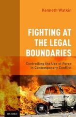 Fighting at the Legal Boundaries 1st Edition 9780190457976 019045797X