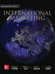 International Marketing 17th Edition 9781259303074 1259303071