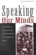 Speaking Our Minds 1st Edition 9780805837681 080583768X