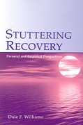 Stuttering Recovery 1st Edition 9780805847710 0805847715