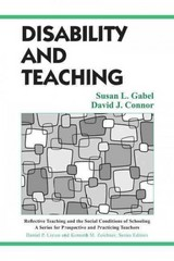 Disability and Teaching 1st Edition 9781135137434 1135137439