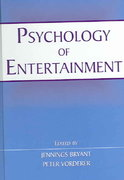 Psychology of Entertainment 1st Edition 9781135257415 1135257418