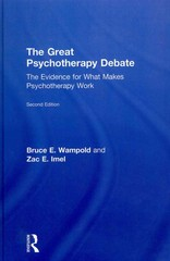 The Great Psychotherapy Debate 2nd Edition 9781136672606 1136672605