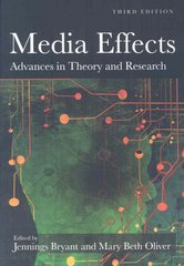Media Effects 3rd Edition 9780805864502 0805864504