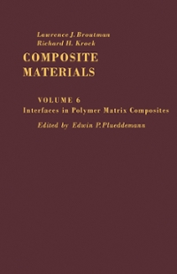 Interfaces in Polymer Matrix Composites 1st Edition 9781483216720 1483216721