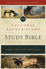 NIV, Cultural Backgrounds Study Bible, Hardcover 1st Edition 9780310431589 0310431581