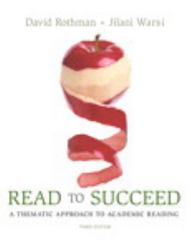 Read to Succeed 3rd Edition 9780134132976 0134132971