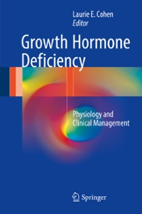 Growth Hormone Deficiency 1st Edition 9783319280387 3319280384