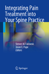 Integrating Pain Treatment into Your Spine Practice 1st Edition 9783319277967 3319277960