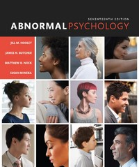 Abnormal Psychology 17th Edition 9780133852059 0133852059