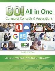 GO! All in One 3rd Edition 9780134505749 0134505743