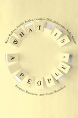 What Is a People 1st Edition 9780231168762 0231168764
