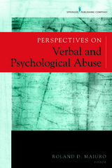 Perspectives on Verbal and Psychological Abuse 1st Edition 9780826194671 0826194672