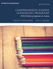 Comprehensive School Counseling Programs 3rd Edition 9780133905212 0133905217