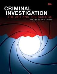 Criminal Investigation 8th Edition 9780134437422 013443742X
