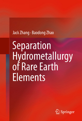 Separation Hydrometallurgy of Rare Earth Elements 1st Edition 9783319282350 3319282352