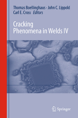 Cracking Phenomena in Welds IV 1st Edition 9783319284347 3319284347
