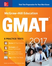 McGraw-Hill Education GMAT 2017 10th Edition 9781259642425 1259642429