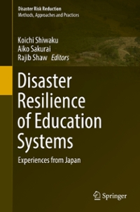 Disaster Resilience of Education Systems 1st Edition 9784431559825 4431559825