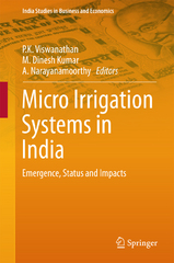 Micro Irrigation Systems in India 1st Edition 9789811003486 9811003483