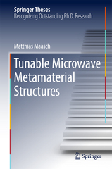 Tunable Microwave Metamaterial Structures 1st Edition 9783319281797 3319281798
