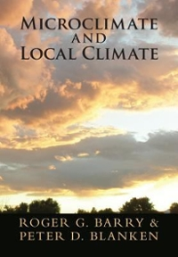 Microclimate and Local Climate 1st Edition 9781107145627 1107145627