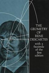 The Geometry of Rene Descartes 0 9780486600680 0486600688
