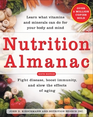 Nutrition Almanac 6th edition 9780071436588 0071436588