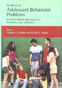 Handbook of Adolescent Behavioral Problems 0 9780387238456 038723845X