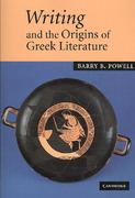 Writing and the Origins of Greek Literature 1st edition 9780521036313 0521036313